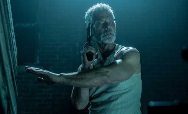"This image released by Sony Pictures shows Stephen Lang in a scene from ""Dont Breathe."" (Gordon Timpen/Sony/Screen Gems via AP)"