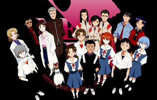 Los-personajes-de-Evangelion