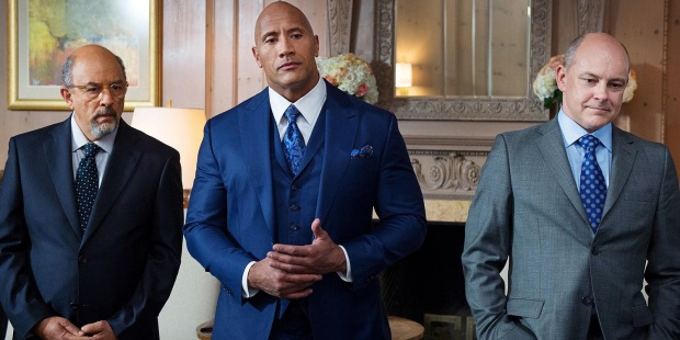 Richard-Schiff-Dwyane-Johnson-and-Rob-Corddry-in-Ballers-season-3-finale
